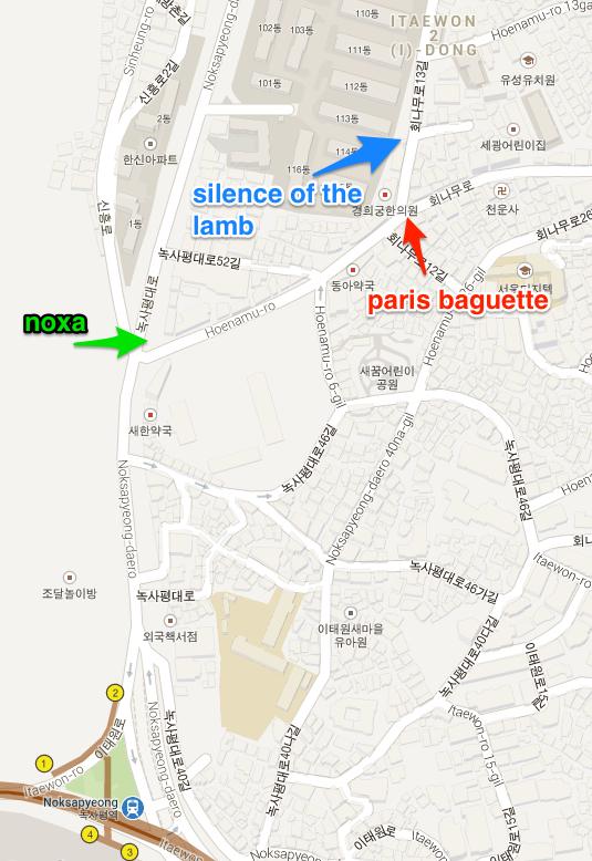 Lambs map