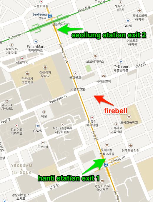 Firebell map