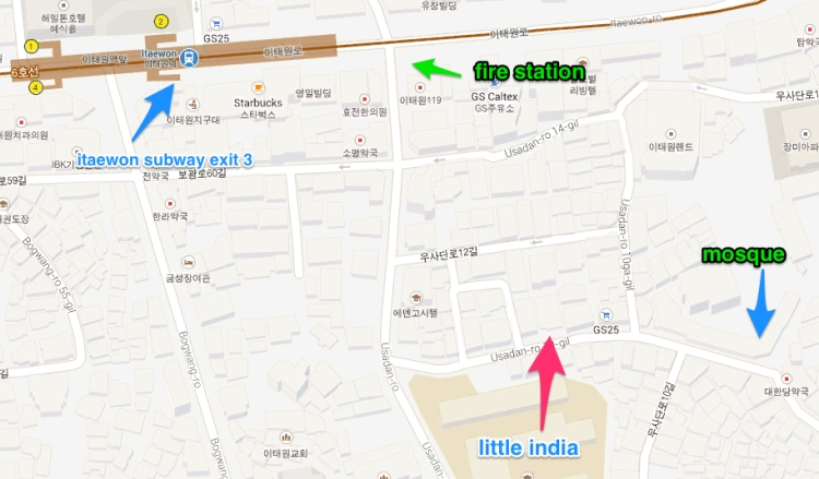 Little India map