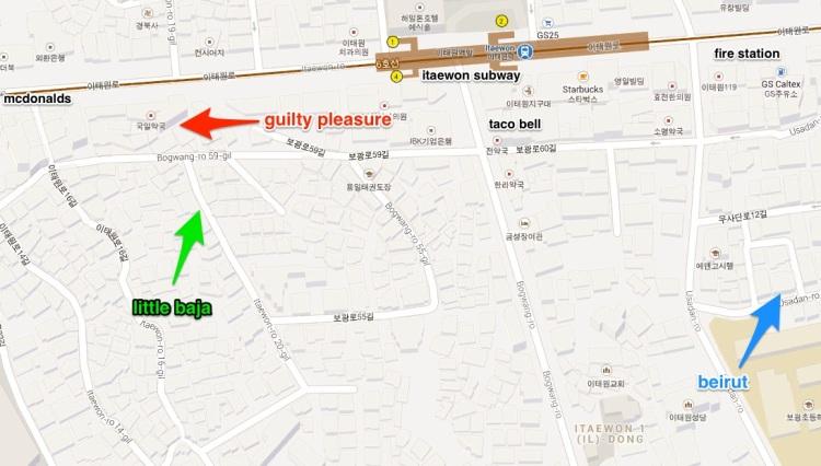 itaewon map