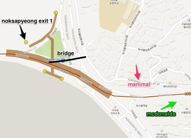 Manimal map